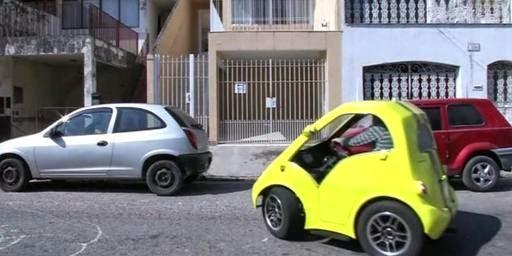 Mobil Super Kecil Nanico Sangat Irit dan Keren
