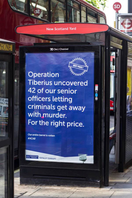 Metropolitan Police Poster OOH Advertising London