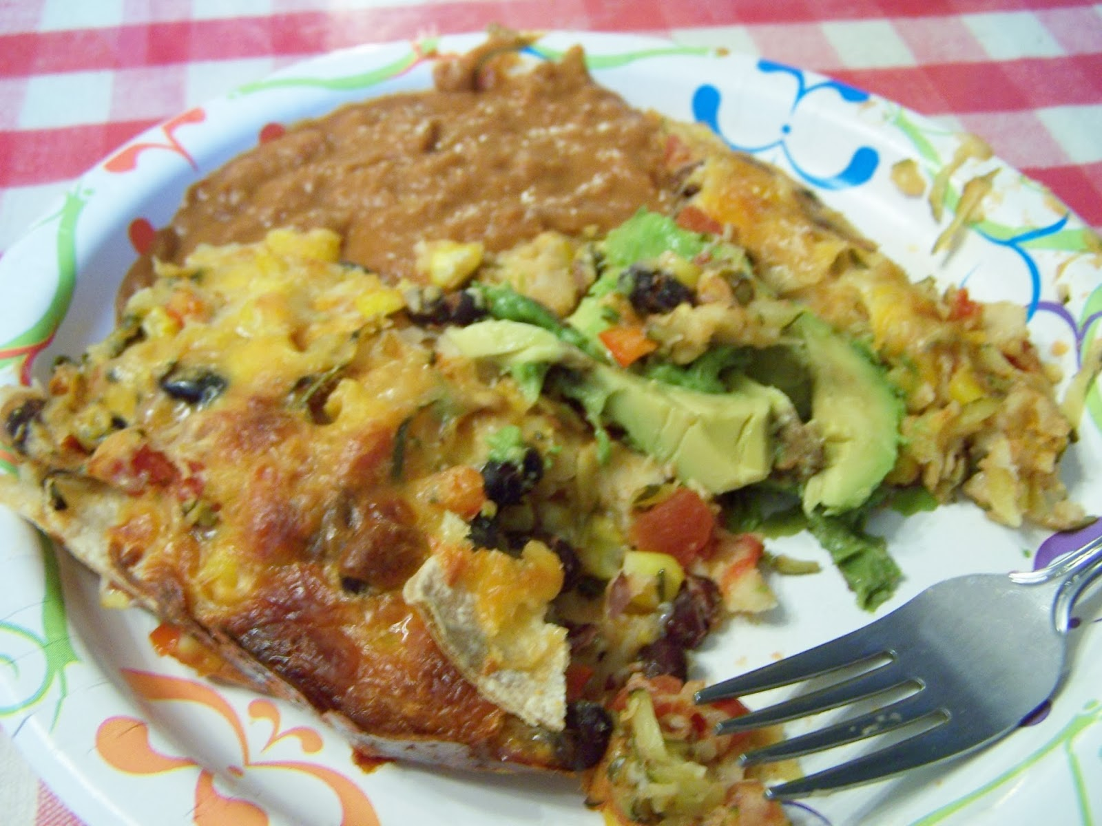 Recipe of the Month: Vegetarian Enchilada Bake