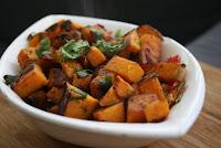 Salata de cartofi cu ciuperci.