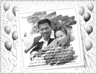15 April 2011 - Ucapan buat suami tersayang di Hari Lahirnya...