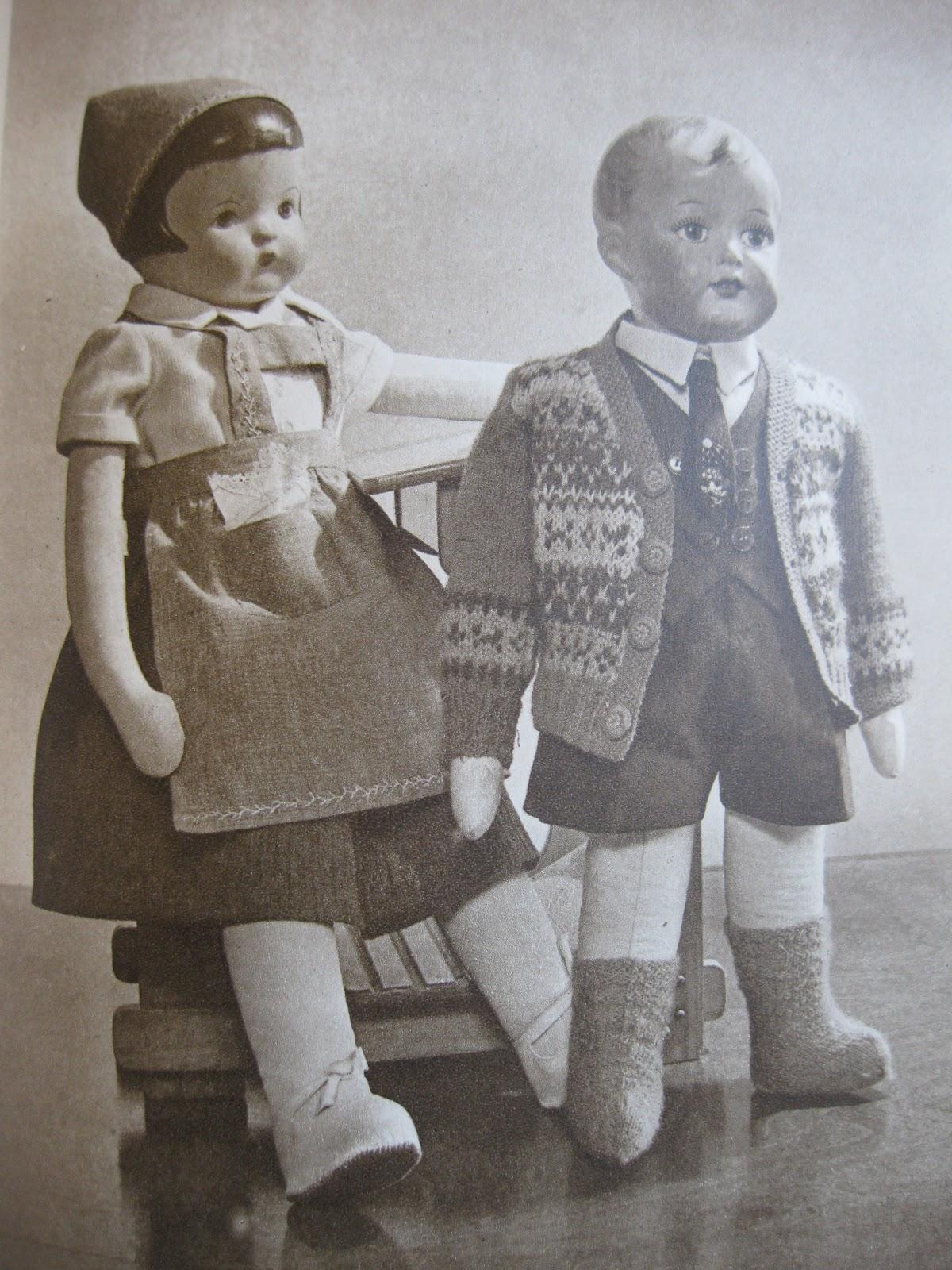 vanhojen nukkejen valmistus
