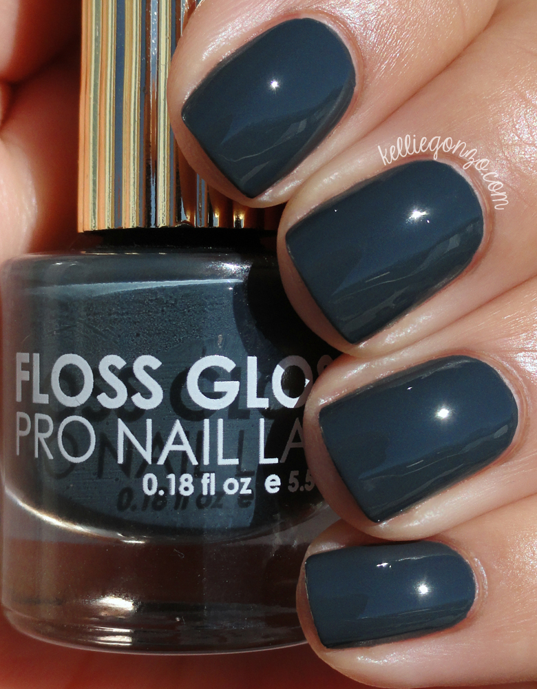 KellieGonzo: Floss Gloss Faded Swatch & Review