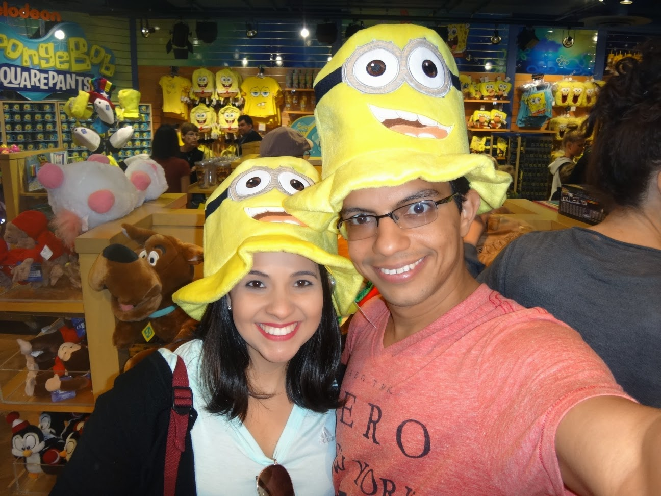 minions - universal studios hollywood