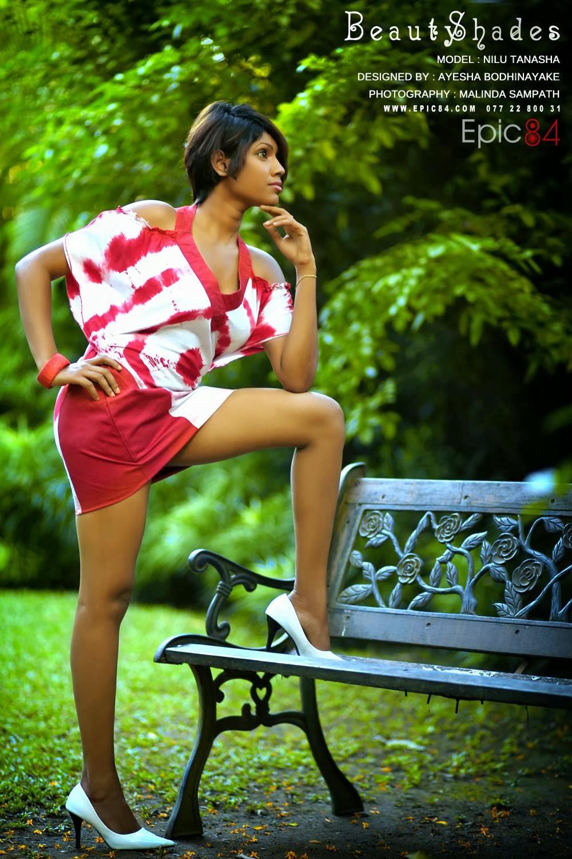 Nilu Tanasha sexy open legs
