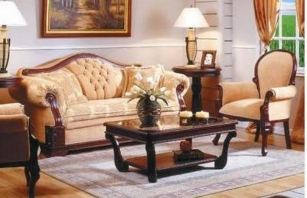 Mb juegos de sala clasicos for Fotos de muebles de sala