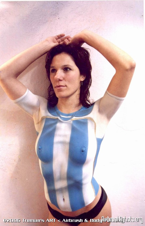 Argentina Airbrush Body Painting
