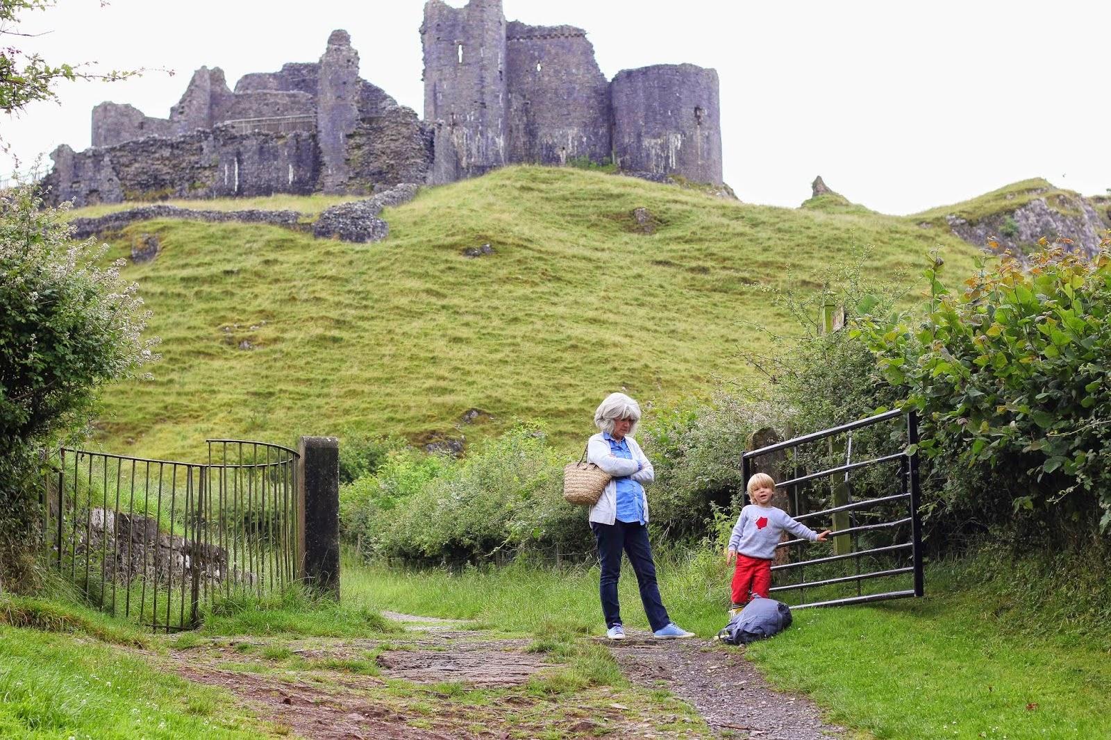 Castle Ruins Wales
