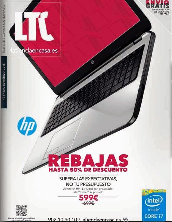Ordenador HP 599€ / LTC Inv 2015