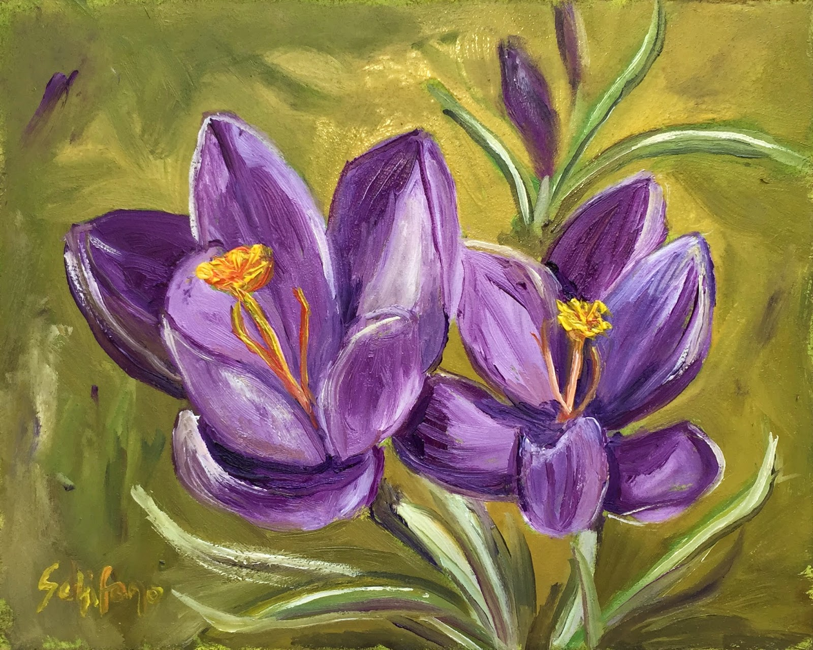 Grand Island painter, Kathy Schifano