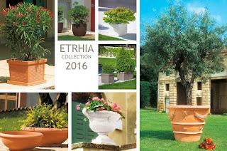 Barnaplant y Arribas Center presentan la colección de macetas y jardineras Etrhia 2016 de euro3plast