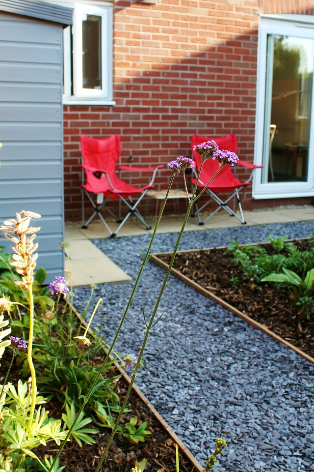 Small garden makeover on a budget just a little less for Garden redesign on a budget