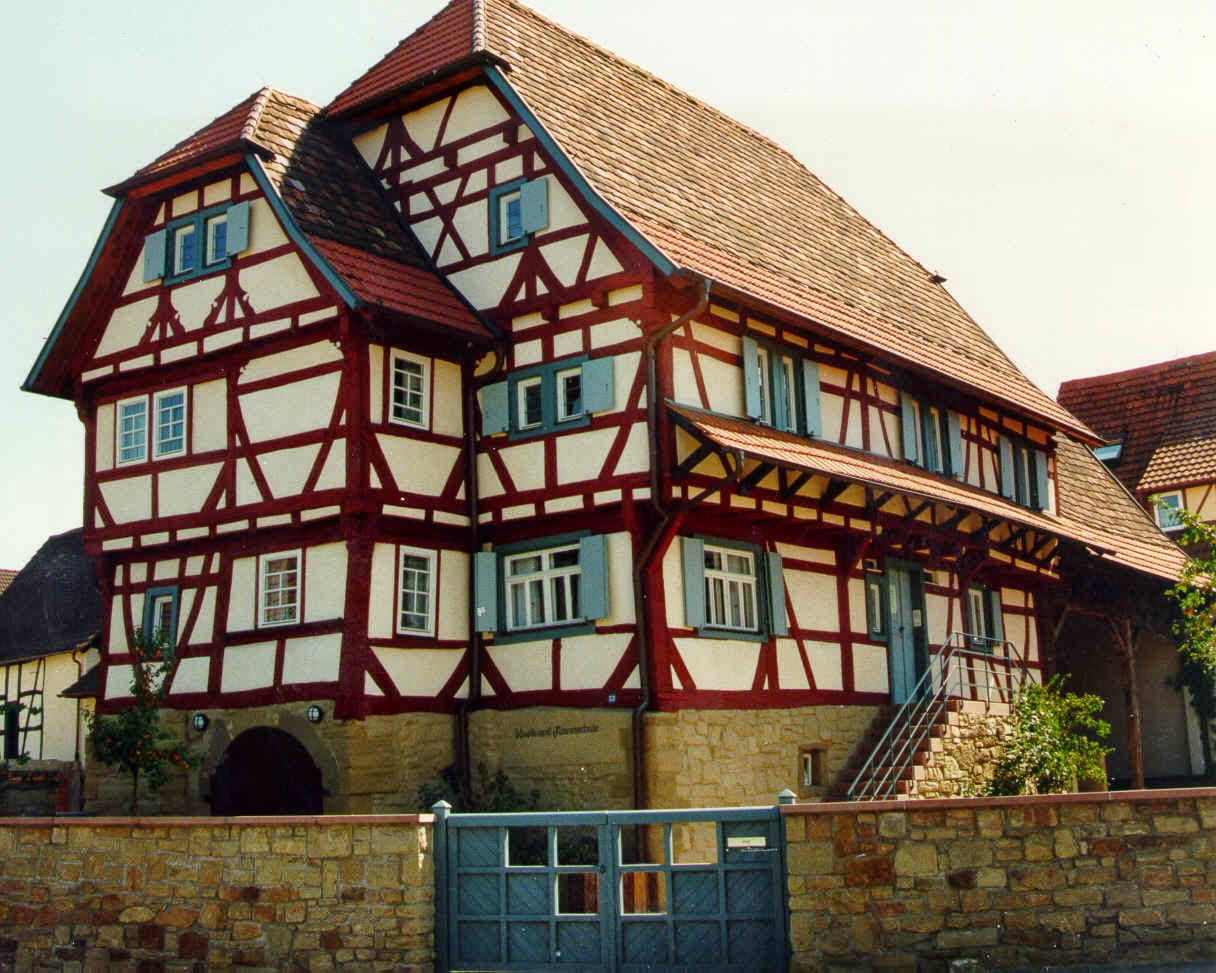 Fachwerkhaus architektenh user for Fachwerkhaus definition