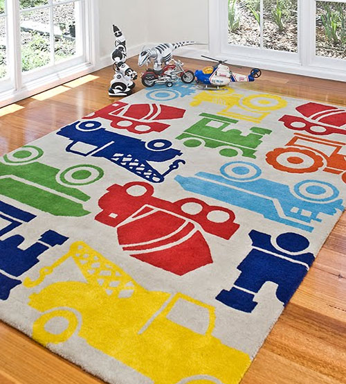Kids bedroom area rugs - Amazing style rugs for kids rooms ...