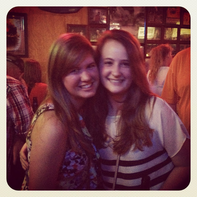 Reunited with Rebecca in Nashville on Semi-Charmed Kind of Life