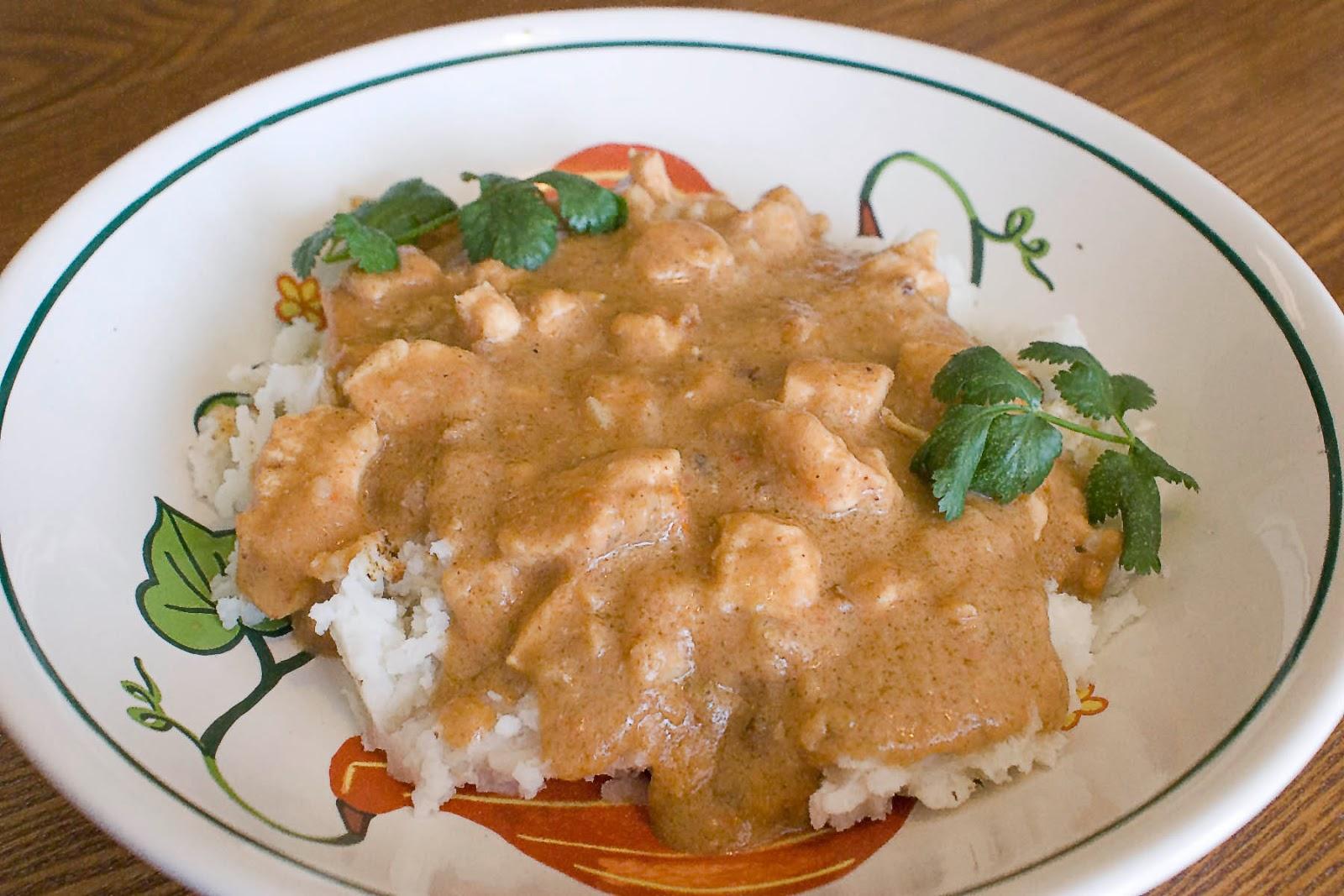 Chicken Peanut Soup (Ghanian Nkate Nkwan, Nkatenkwan, Nkate Nkwanin)