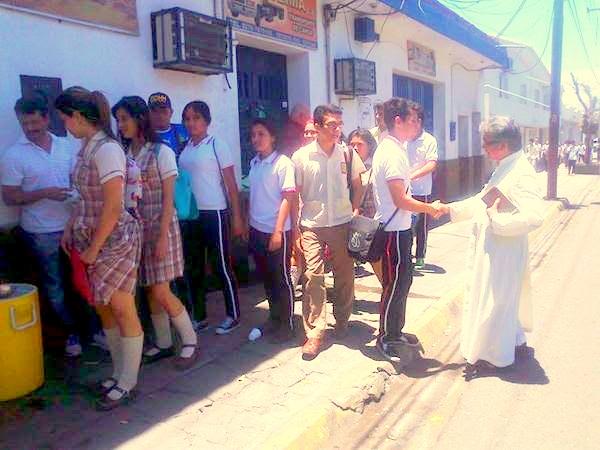 Iglesia Católica de Ureña comprometida con niños y jóvenes que estudian en Cúcuta