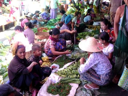 Mercado Nyaungshwe