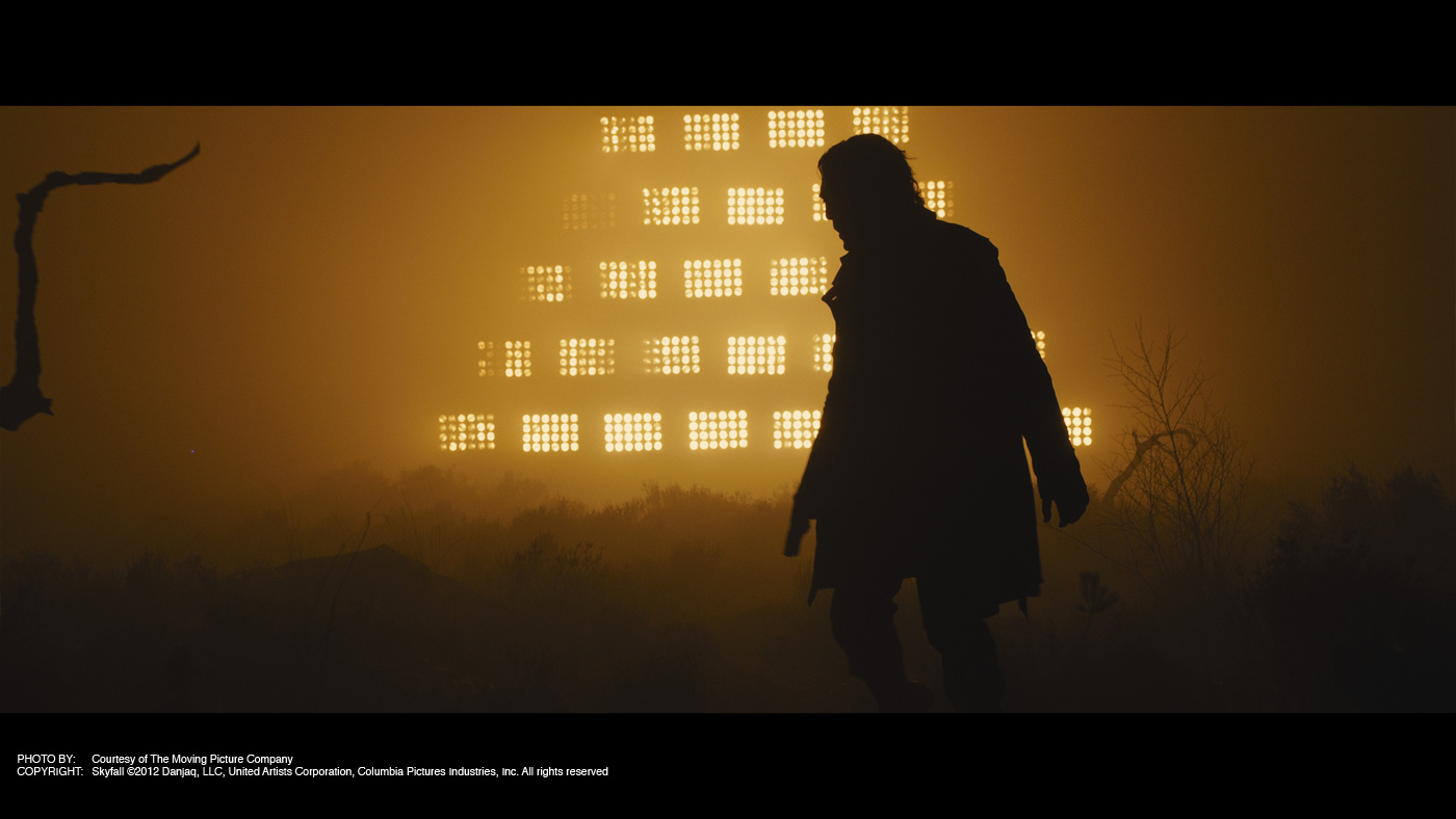senior media thesis the cinematography of skyfall