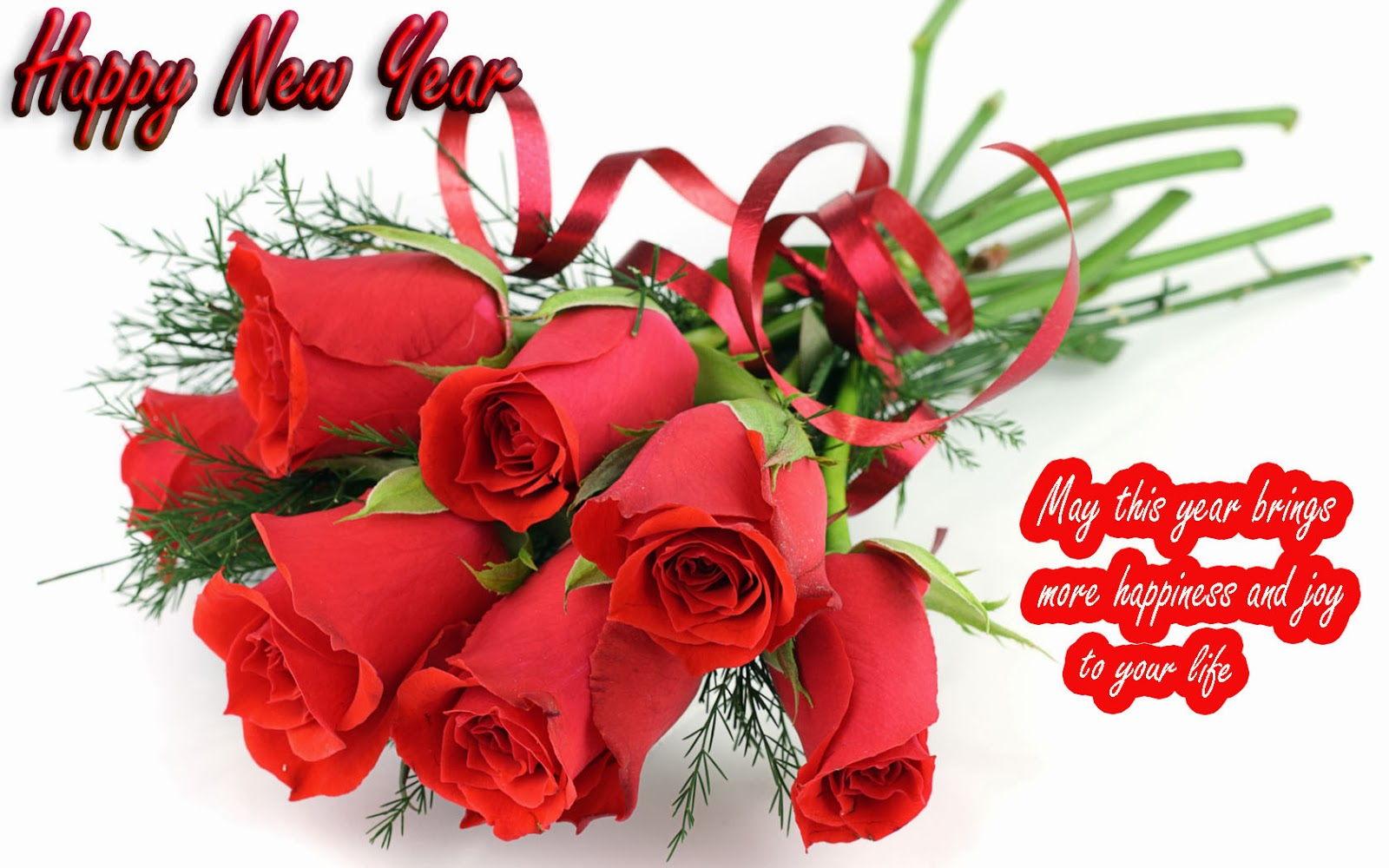 Happy New Year Beautiful Wishes Greetings Free World Festivals