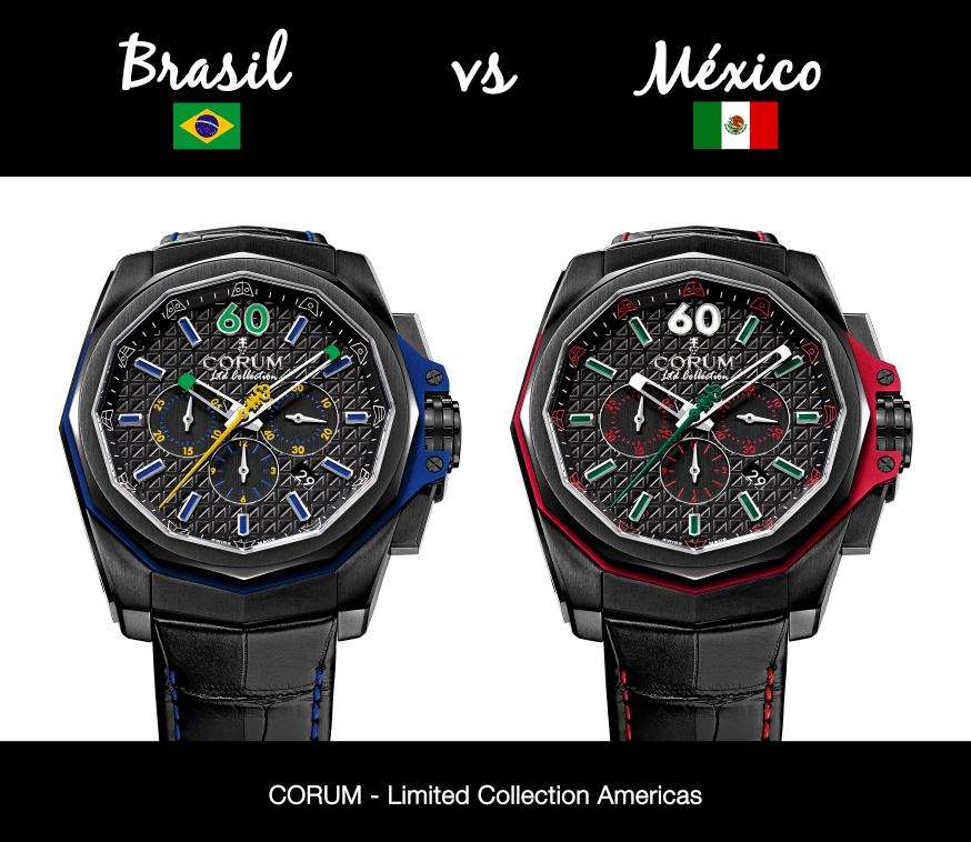 10 relojes de inspiración mundialista y futbolera