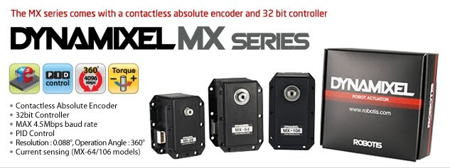 Dynamixel Series for Robotics