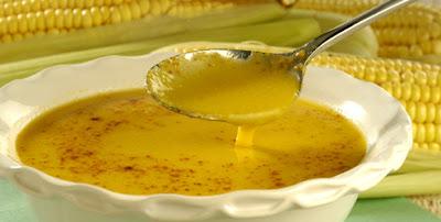 Receita de Caldo de milho com gengibre