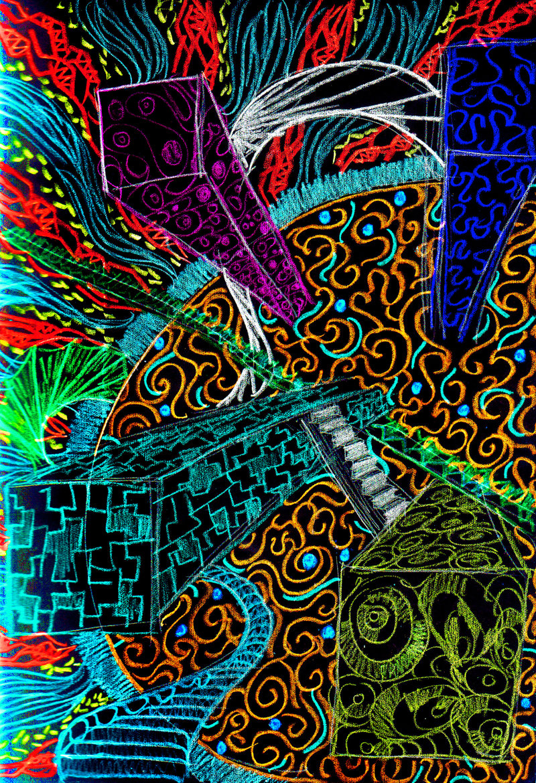Psychedelic art  Fine ...