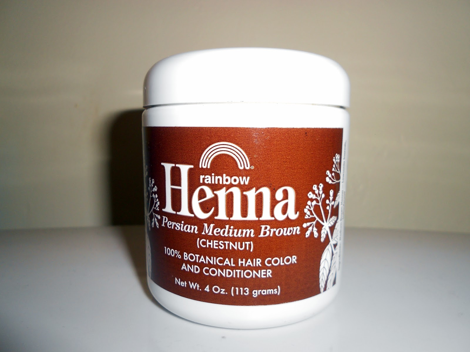 Nurture From Nature Rainbow Henna Hair Color Review