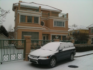 203 Beijing Riviera in the snow