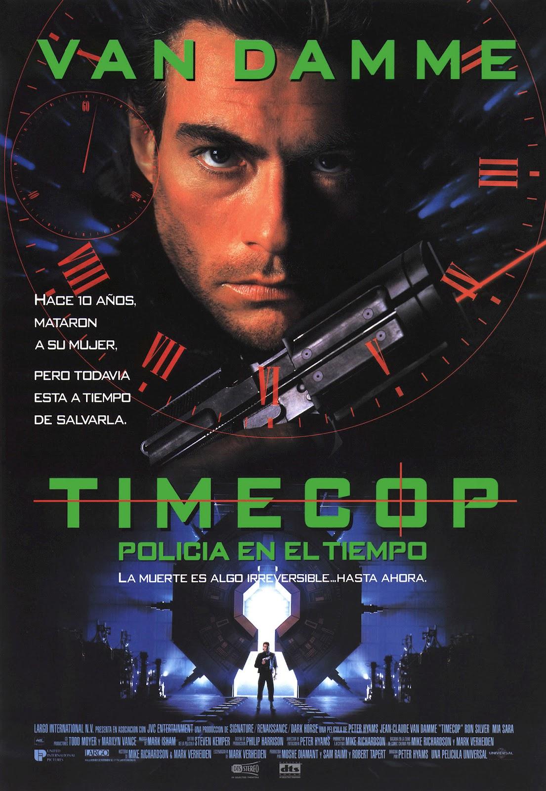 Timecop, Policia En El Tiempo (1994)