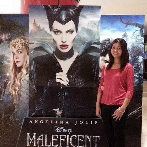 Maleficent movie, Shangrila Plaza cinema, Nuffnang