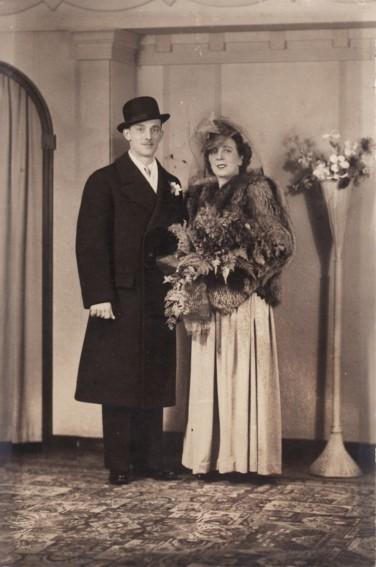 Anita Bernard and Joseph Blanchette