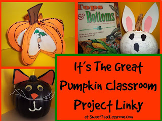 classroom pumpkin projects