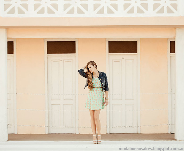 Oshum vestidos verano 2014 moda mujer.