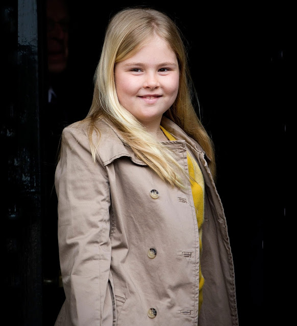 Dutch Princess Amalia Celebrates Her 12th Birthday