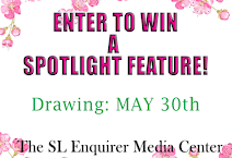 ENTER TO WIN A SPOTLIGHT FEATURE
