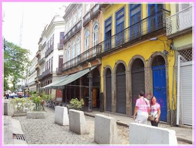 Rua do Mercado no Rio Antigo