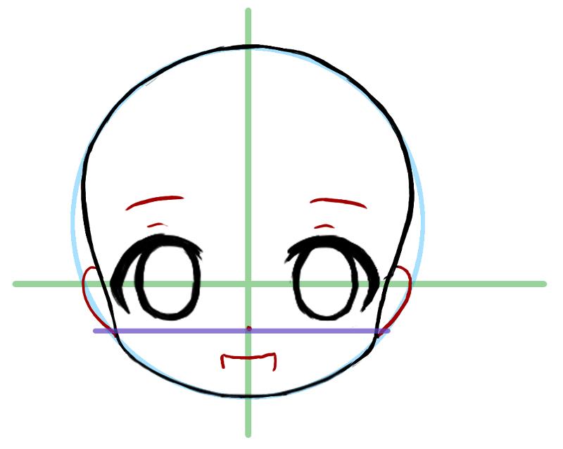 Comment dessiner chibi - Comment dessiner ulysse ...