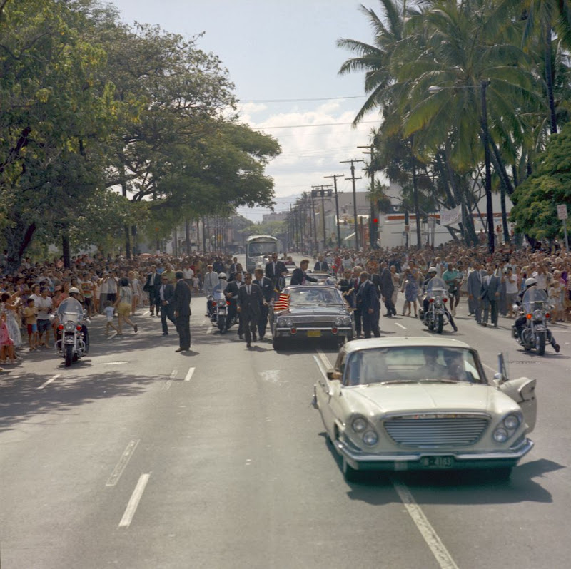 JFK-Motorcade-Honolulu-Hawaii-June-9-196