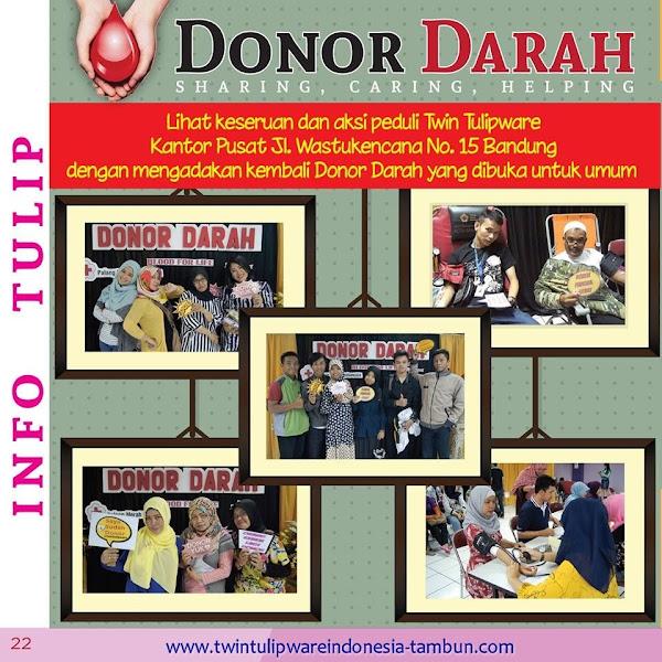 Info Tulip : Donor Darah 2016