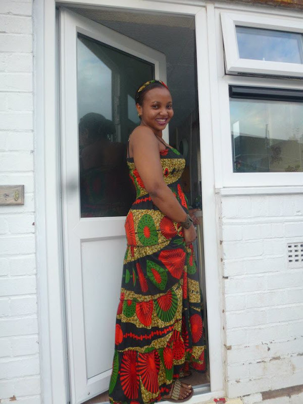 Kiki's kitenge maxi dress