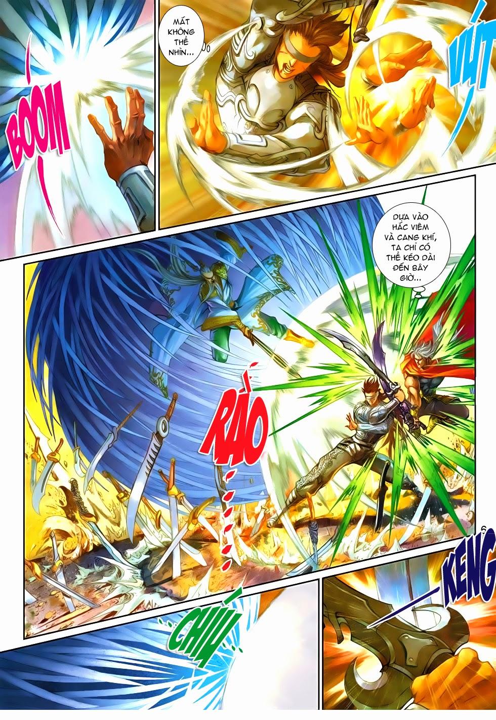 Thần Binh Tiền Truyện 4 - Huyền Thiên Tà Đế chap 9 - Trang 6