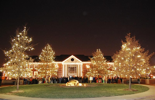 Holiday Lighting Services Charlotte - 877-433-5833