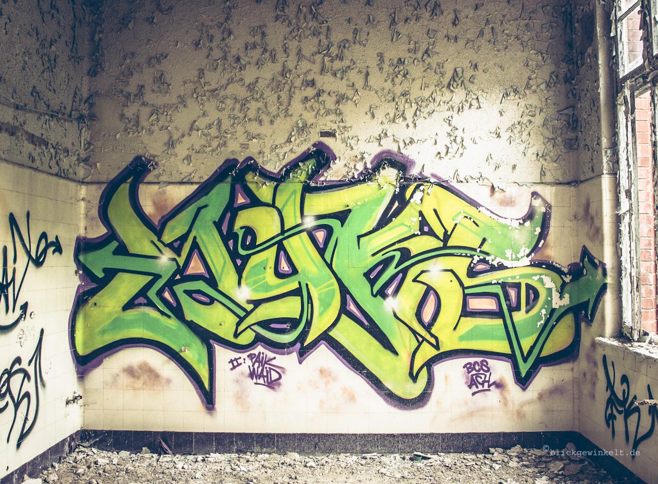 Graffiti Beelitz-Heilstätten