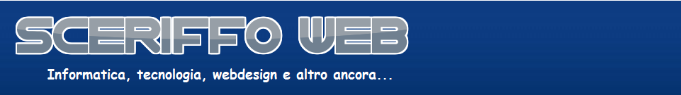 SCERIFFO WEB