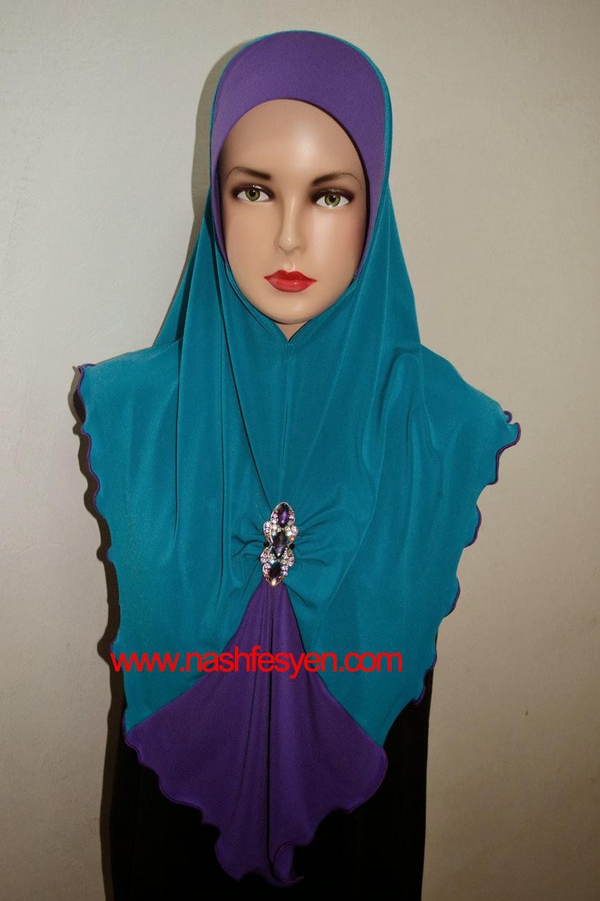 Fesyen Tudung Lycra Untuk Majlis Perkahwinan