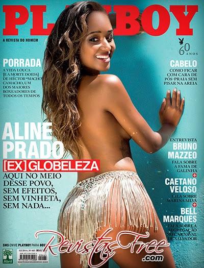 Revista Playboy - Aline Prado - Fevereiro 2014