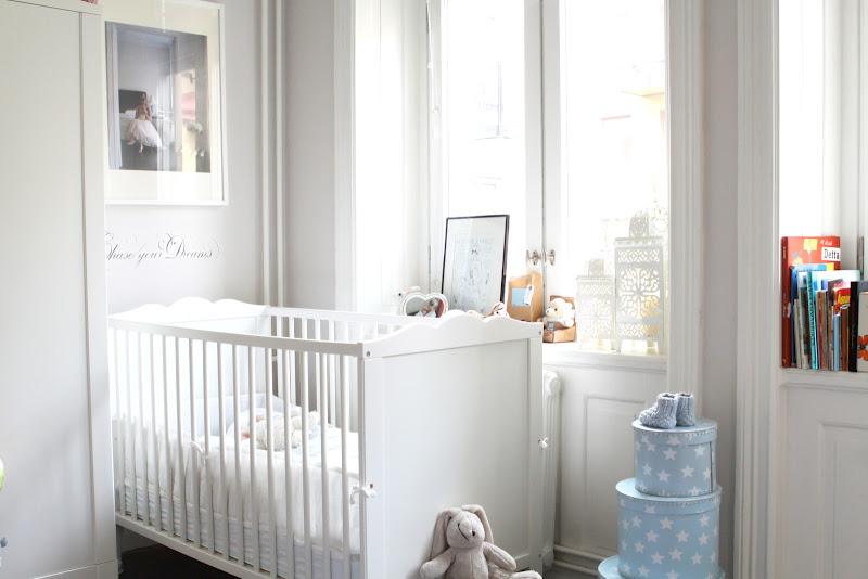 Dormitorio de beb que inspira calma y ternura baby deco - Dormitorios bebe ikea ...