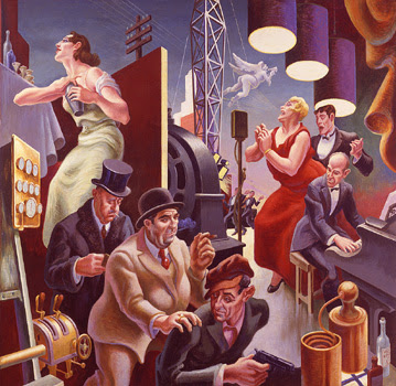 Thomas Hart Benton Art in the city